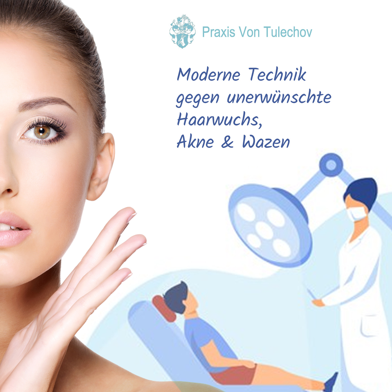Medizinische Epilation: Praxis Tulechov in München